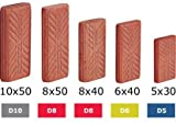 494863, Festool Domino Sipo Tenons 10x24x50, 255 pcs