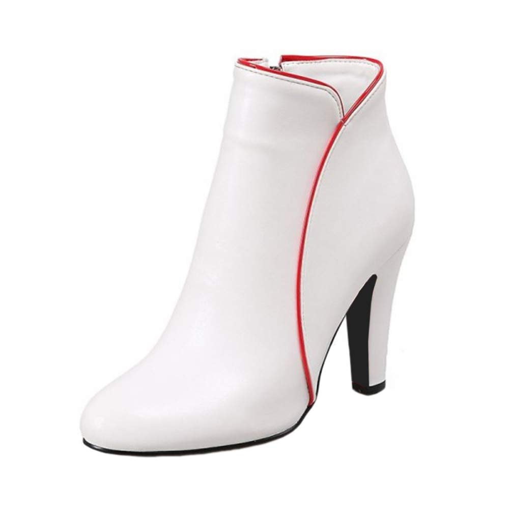 Onewus , Femme Bottes Onewus Classiques B07FVKD67F Femme Wei? eaa6cce - boatplans.space