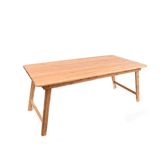 HAKN Mesa Plegable De Bambú, Rectangular, Buena Estabilidad, Patas ...