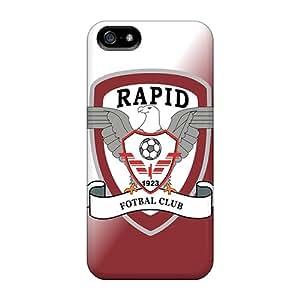 WDd30462gupc AlexandraWiebe Rapid Bucuresti Logo Durable Iphone 5/5s Cases