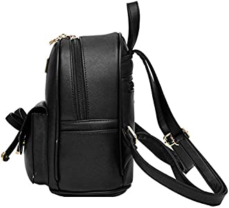 Mini back pack, guess USA, made in China, leather, size 21