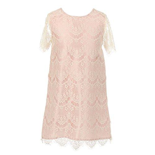 Rose Eyelet Dress - 6