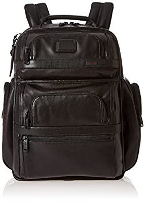 Tumi Alpha 2 T-Pass Business Class Leather Brief Pack by Tumi Luggage