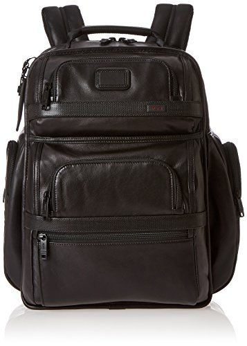 Tumi Alpha 2 T-Pass Business Class Leather Brief Pack -  Tumi Luggage