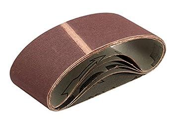 Triton TPTA12720814 64 x 406 mm 150 Grit Sanding Belt Pack of 5 Multi-Colour