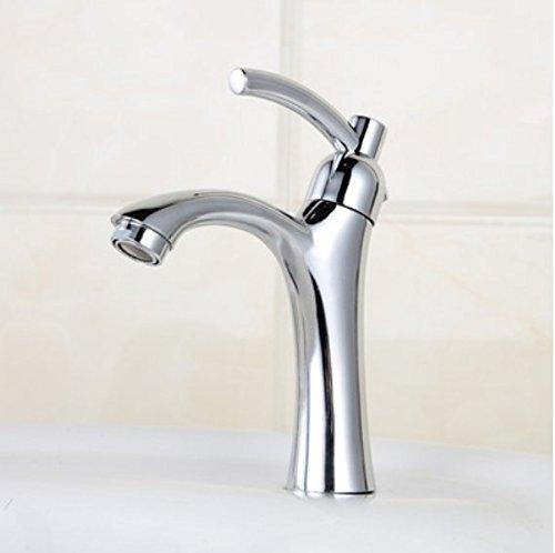 MMYNL Küchenarmatur Armatur Küche Wasserhahn Alle Kupfer Waschbecken mit kaltem Wasser Waschbecken Bad mit kaltem Wasser der Einhebelsteuerung  Spültischarmatur