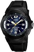 Casio MW-600F-2AVCF Reloj Análogo para Hombre, Negro
