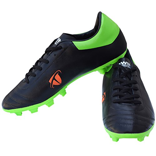 Gowin by Triumph ACE Black/Parrot Football Shoes