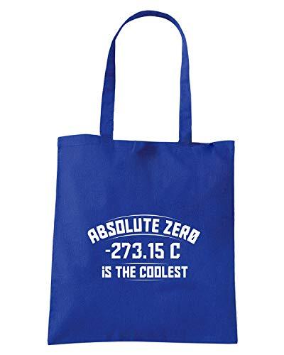 Borsa Shopper Royal Blu FUN0488 ABSOLUTEZERO