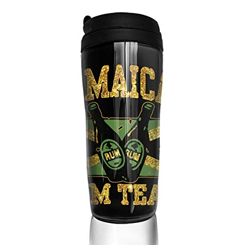 (Jamaican Rum Team Modern Insulated Traveler Coffee Mug Tumbler Stainless Steel Coffee Cup 12 Oz)