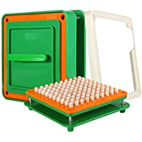 64 Holes (0#) Empty Capsule Filler with Tamper for Size 0 Capsules Holding Tray Capsule Filling Machine
