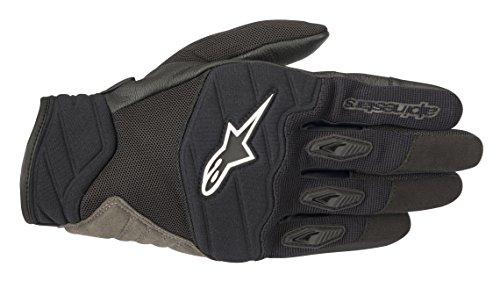 Shore Motorcycle Street Riding Glove (XL, Black) (Alpinestars Gloves Xl)