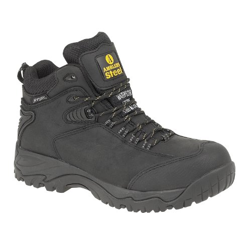 Amblers Safety FS190 Mens SB W/P Safety Boots Black UK 10