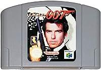 Golden Eye 007 N64 - Video Game Cartridge Card - Compatible model NINTENDO – English - US Version