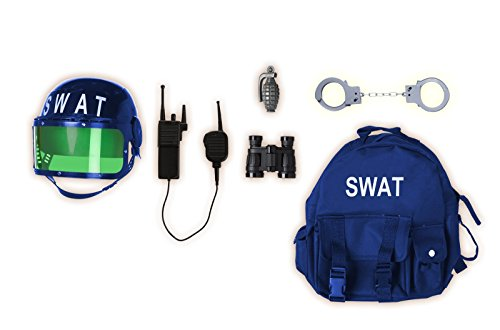 Gear to Go - SWAT Adventure Play Set (As Shown;One (Costume Box Swat)