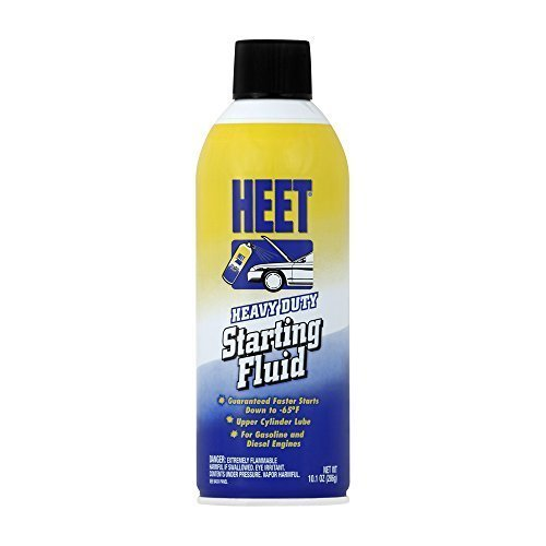 HEET SA16-12 Starting Fluid, 10.1 av. oz. by Heet
