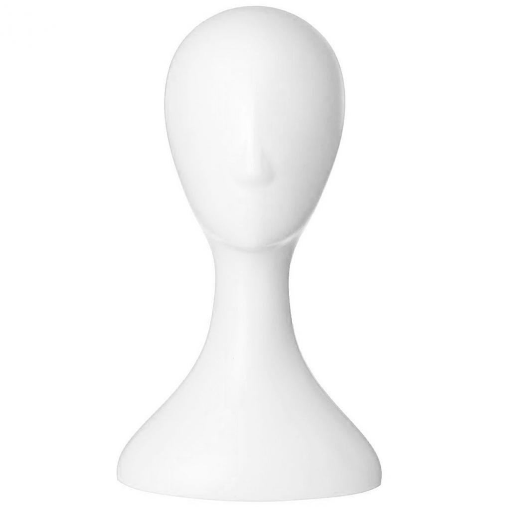 HEART SPEAKER Pro Female Plastic Abstract Mannequin Manikin Head Model Wig Hair Display Stand