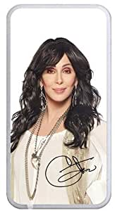 Accurate Store American singer and actress Cher iphone 5c TPU Case Cover