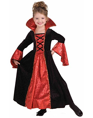 Evil Vampire Queen Costumes (Forum Novelties Vampire Princess Costume Dress, Child Small)