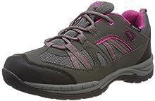 Bruetting Fresno, Zapatos de Low Rise Senderismo para Mujer, Gris (Anthrazit/Pink Anthrazit/Pink), 38 EU
