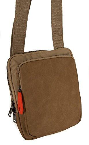 Man bag with shoulder strap BIKKEMBERGS item 7BDD8206 DB-NEXT 2.0 FLAT CROSSOVER (Shoes Men Bikkembergs)