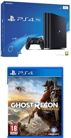 PlayStation 4 Pro (PS4) - Consola de 1 TB + Ghost Recon Wildlands ...