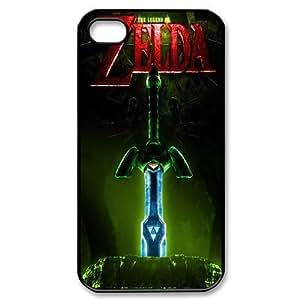 iPhone 4 / iPhone 4s TPU Gel Skin / Cover, Custom TPU iPhone 4g Back Case - The Legend Of Zelda
