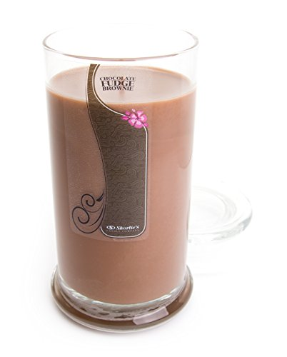 - Chocolate Fudge Brownie Candle - Large Brown 16.5 Oz. Highly Scented Jar Candle - Made with Natural Oils - Bakery & Food Collection