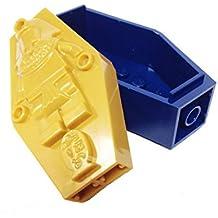 "MinifigurePacks: Lego® Pharaoh's Quest Bundle ""(1) DARK BLUE 2 x 4 x 6 Pharaoh Coffin/Sarcophagus Base"" ""(1) PEARL GOLD 2 x 4 x 6 Sarcophagus Lid with (Mummy Relief Pattern)"""