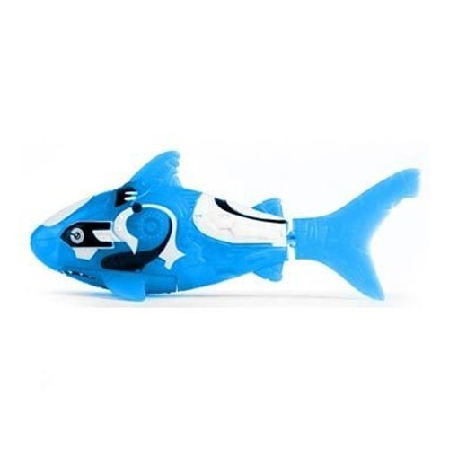 robo fish blue shark - 3
