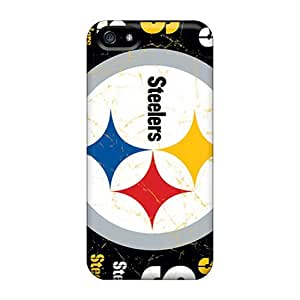 First-class Case Cover For Iphone 5/5s Dual Protection Cover Pittsburgh Steelers