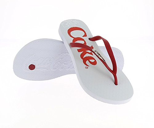 WHITE Coca Women's CCA0642 Fenci Cola PwYOt