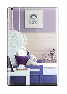 Cleora S. Shelton's Shop 1609888J55321295 New Arrival Purple Toddler Bed With White Floral Hanging Lantern Lights Case Cover/ Mini 2 Ipad Case