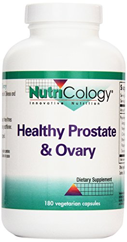 Healthy Prostate Formula - Nutricology Healthy Prostate and Ovary Veg-Capsules, 180-Count
