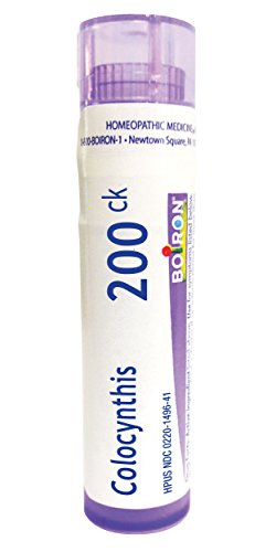 Boiron Colocynthis 200CK Homeopathic Medicine for Cramps, 80 Count