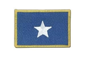 Somalia Bandera, bandera somalíes, 3 pies. x 5 pies, MaxFlags®, Embroidered Patch - 60mm x 80mm