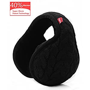 TopRush Foldable Ear Warmers/Ear Muffs – High-Class Windproof Fleece Winter Earmuffs Men Women & Kids