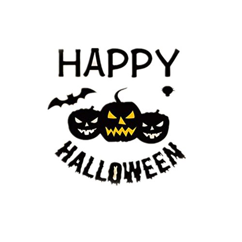 [Charberry Halloween Window Home Decoration Decal Decor Wall Sticker] (Trick Or Treat Costumes Images)