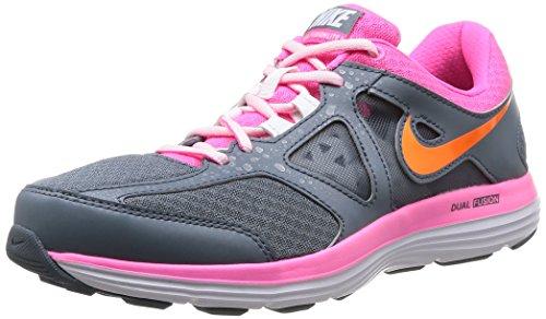 Nike Womens Dual Fusion Lite 2 Msl Running Trainers 642826 Scarpe Da Ginnastica Scarpe Bl Grpht / Ttl Orange-pink Pw-white