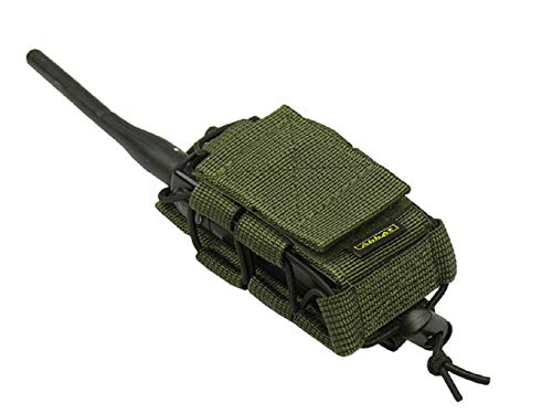 M.O.L.L.E pouch bag Radio Phone GPS tactical molle (Olive OD Green) -