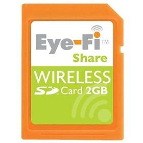 Eye-Fi Share 2GB ワイヤレスSDメモリ 日本版(正規品)