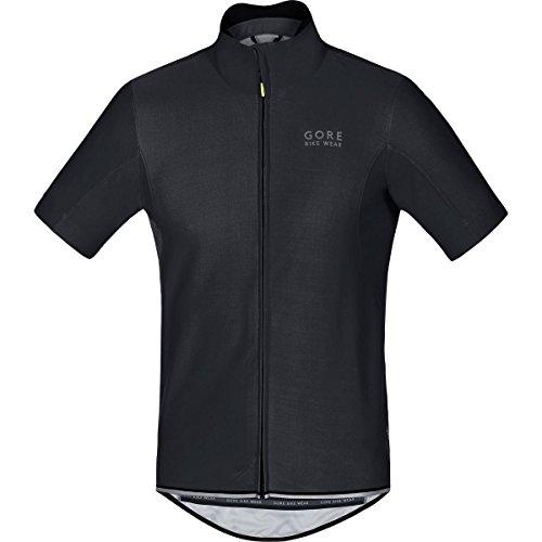 Gore Bike Wear Men´s, Cycling jersey, Short sleeves, GORE WINDSTOPPER Soft Shell, POWER WS SO, Size L, Black, SWSOPO