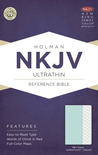 Read Online NKJV Ultrathin Reference Bible, Mint Green LeatherTouch, Indexed ebook