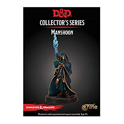 Dungeons & Dragons Dragon Heist: MANSHOON Collector's Series Miniature: Toys & Games