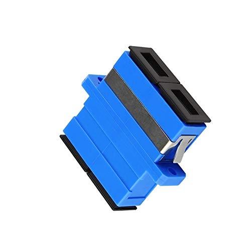 - Gimax 10pcs/lot SC to SC Single Mode Duplex Telecom Coupler Fiber Optic Adapter