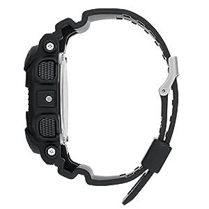 Casio G-Shock Black Resin Quartz Tactical Military Watch (Men's 1A1) & FREE KANGRI Spudz microfiber cloth
