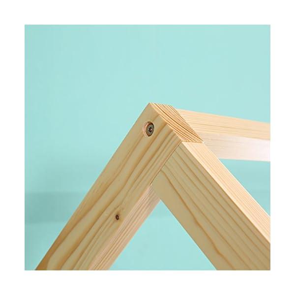 Kids House Bed Frame & Mattress 5