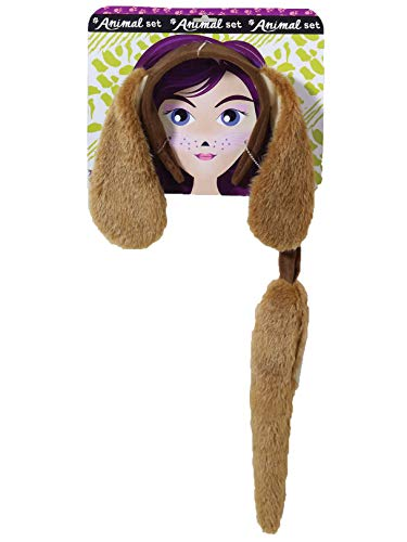 Forum Novelties Women's Playful Animals Dog Costume Accessory Set, One Size -
