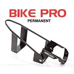 BIKE PRO Motorcycle Wheel Chocks - Black Permanent Chock 20106B