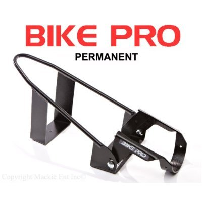 BIKE PRO Motorcycle Wheel Chocks - Black Permanent Chock 20106B